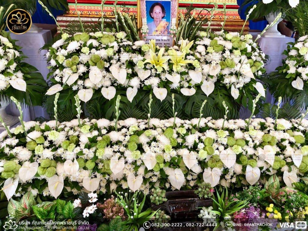 ดอกไม้หน้าศพ กับหีบมอญ - สมุทรสาคร 16/4/2562 4