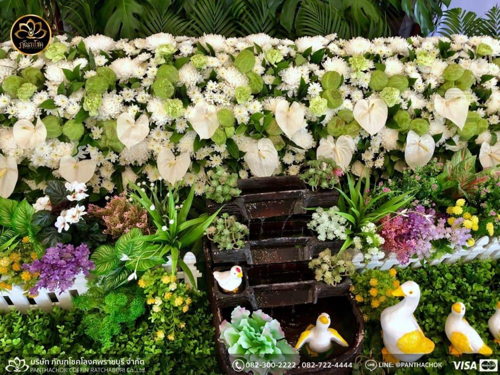 ดอกไม้หน้าศพ กับหีบมอญ - สมุทรสาคร 16/4/2562 6