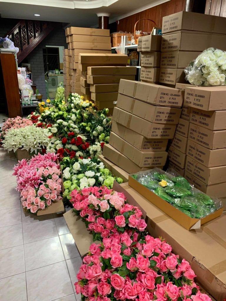 งานดอกไม้แห้ง ดอกไหนเก่าเราทิ้ง จัดแต่ของใหม่ๆให้ลูกค้า 3