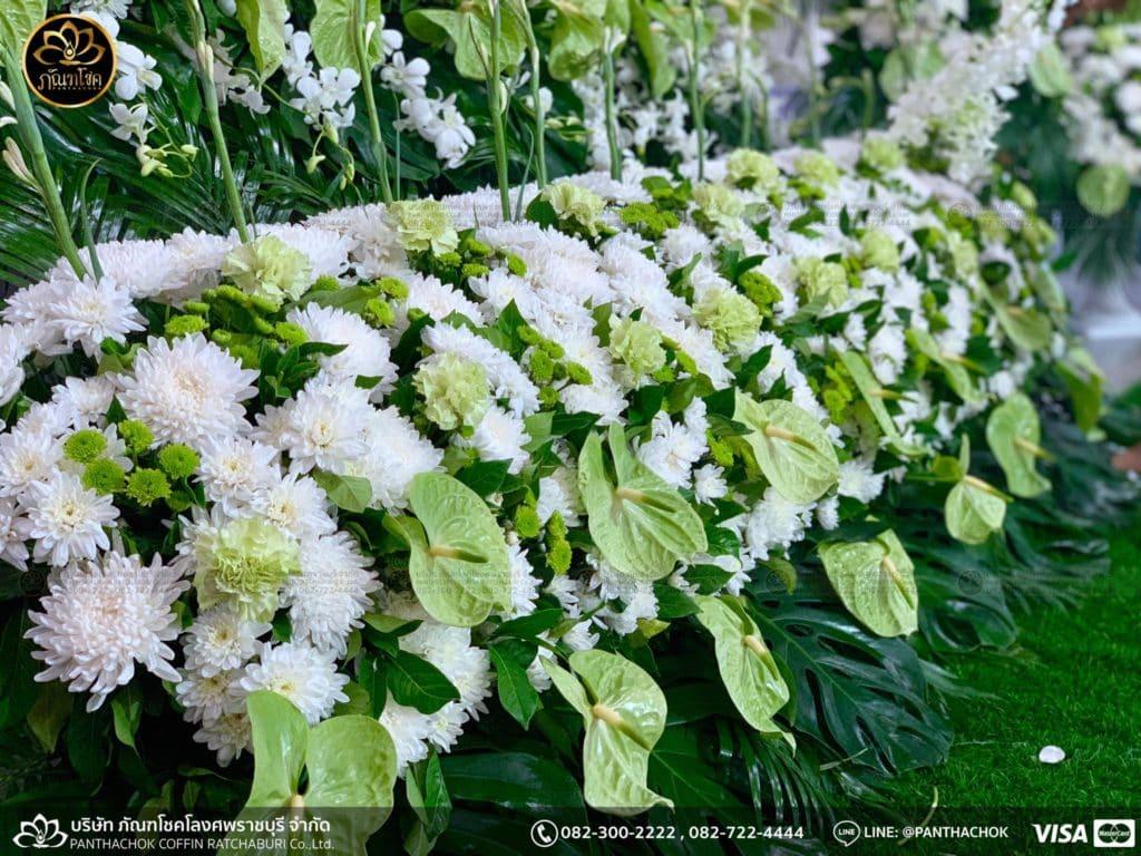 ผลงานดอกไม้สด - วัดศรีสุริยวงศ์  17/05/2562 5