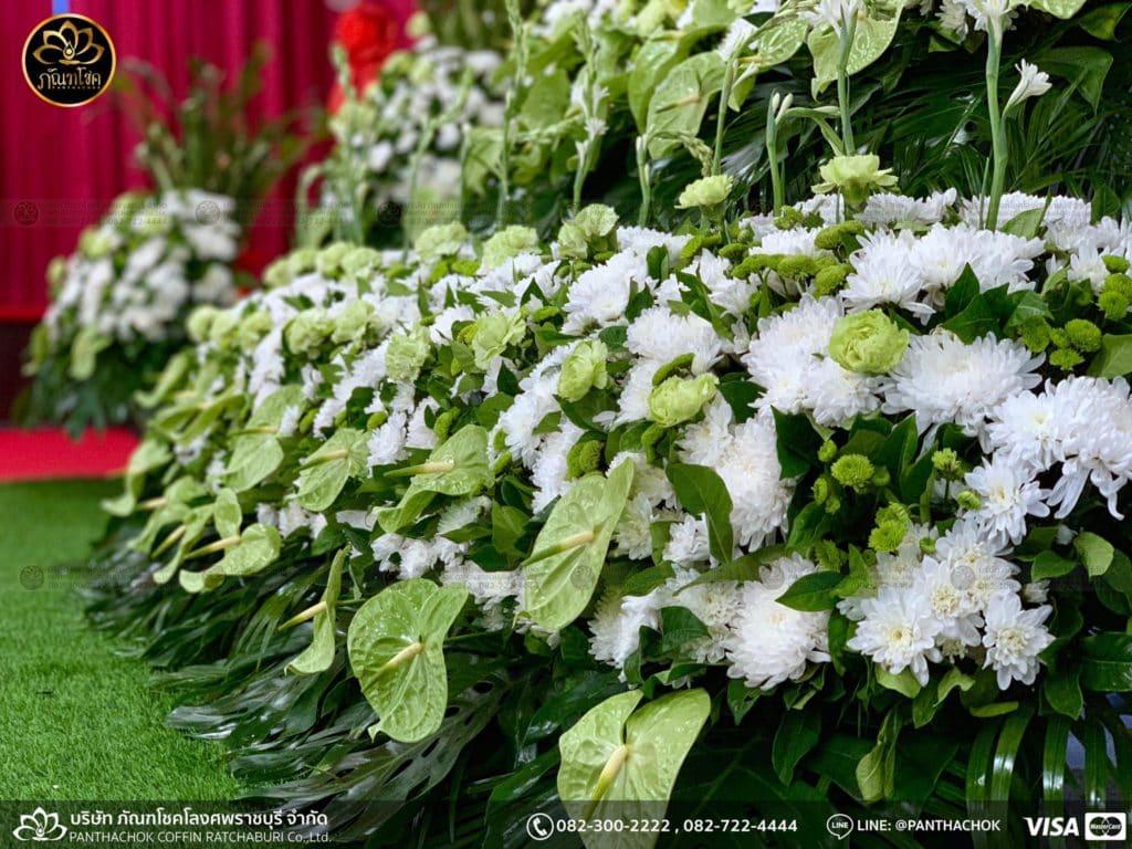 ผลงานดอกไม้สด - วัดศรีสุริยวงศ์  17/05/2562 6