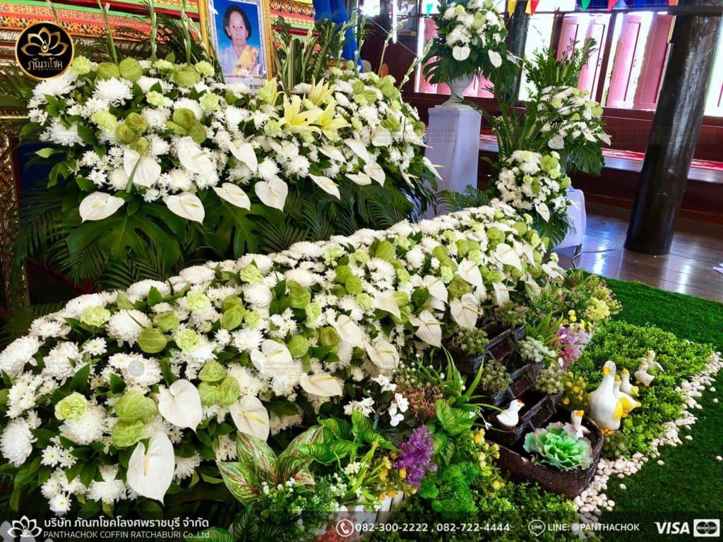 ดอกไม้หน้าศพ กับหีบมอญ - สมุทรสาคร 16/4/2562 12