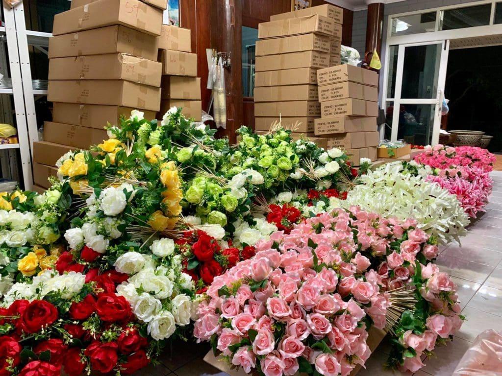 งานดอกไม้แห้ง ดอกไหนเก่าเราทิ้ง จัดแต่ของใหม่ๆให้ลูกค้า 5