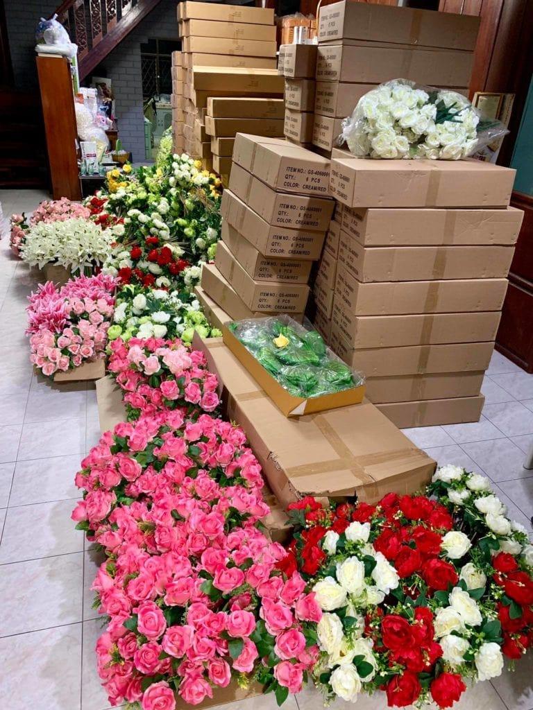 งานดอกไม้แห้ง ดอกไหนเก่าเราทิ้ง จัดแต่ของใหม่ๆให้ลูกค้า 6