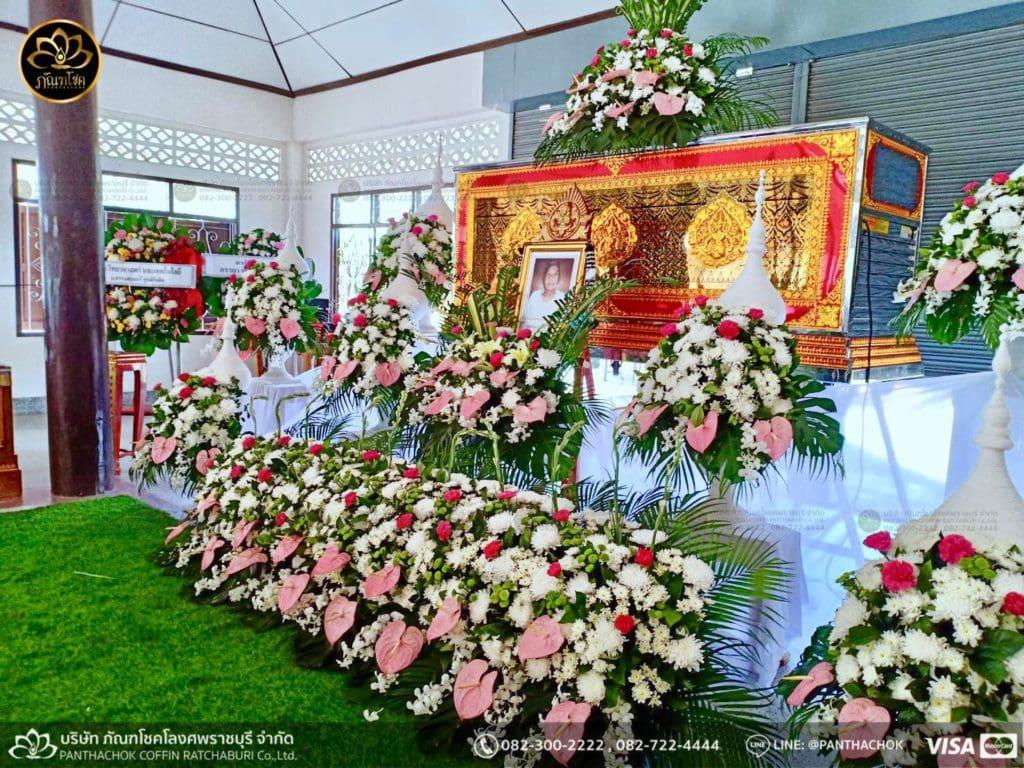 ดอกไม้สดชุดขาว-ชมพู 1/5/2562 1