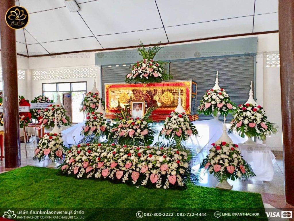 ดอกไม้สดชุดขาว-ชมพู 1/5/2562 2