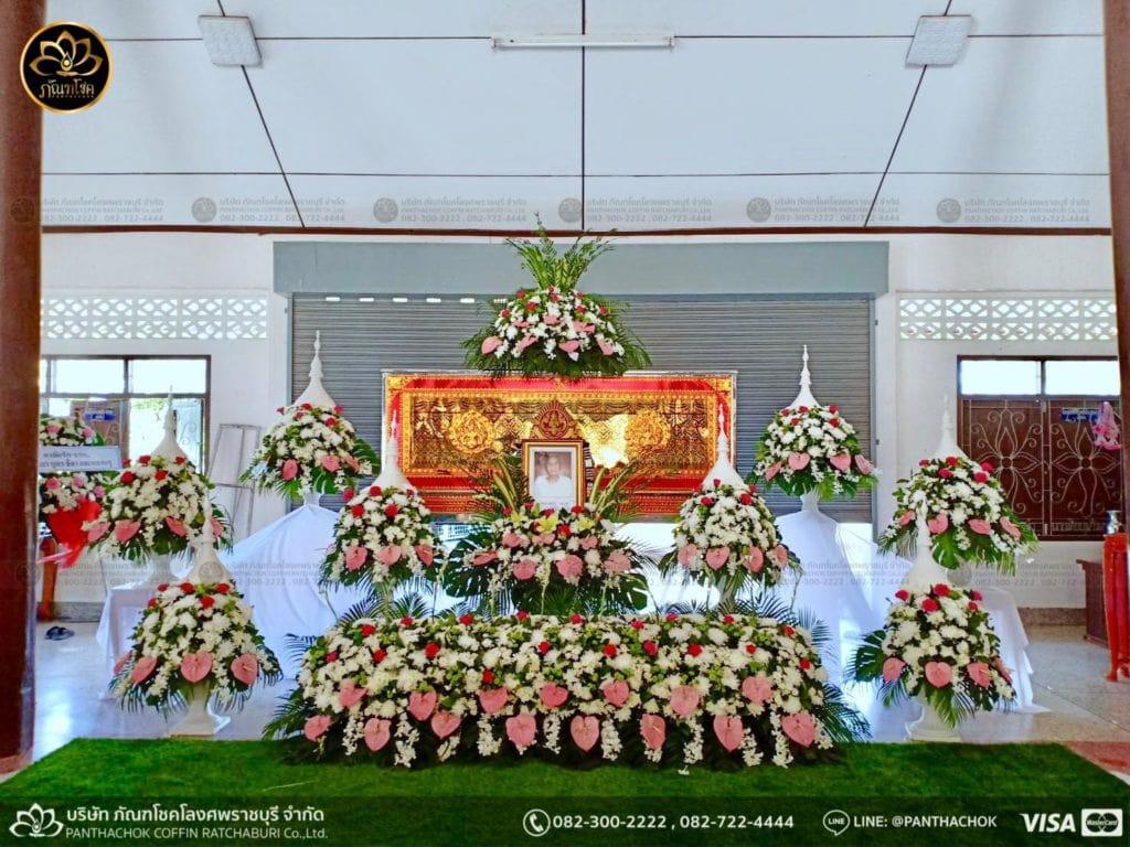 ดอกไม้สดชุดขาว-ชมพู 1/5/2562 3