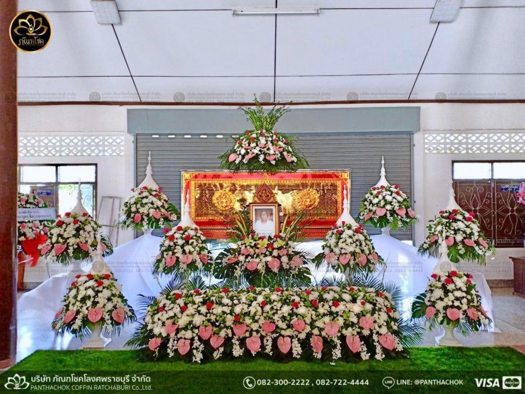 ดอกไม้สดชุดขาว-ชมพู 1/5/2562 4