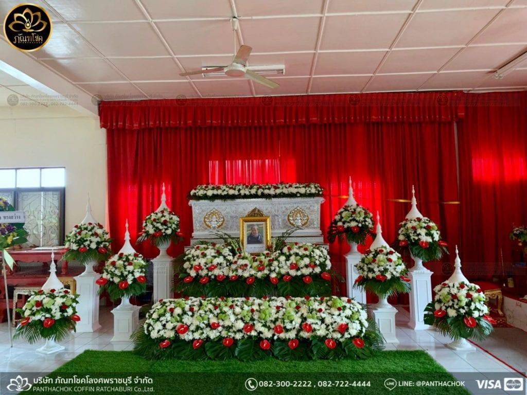 ผลงานดอกไม้ในงานศพ วันที่ 28/05/2562 1