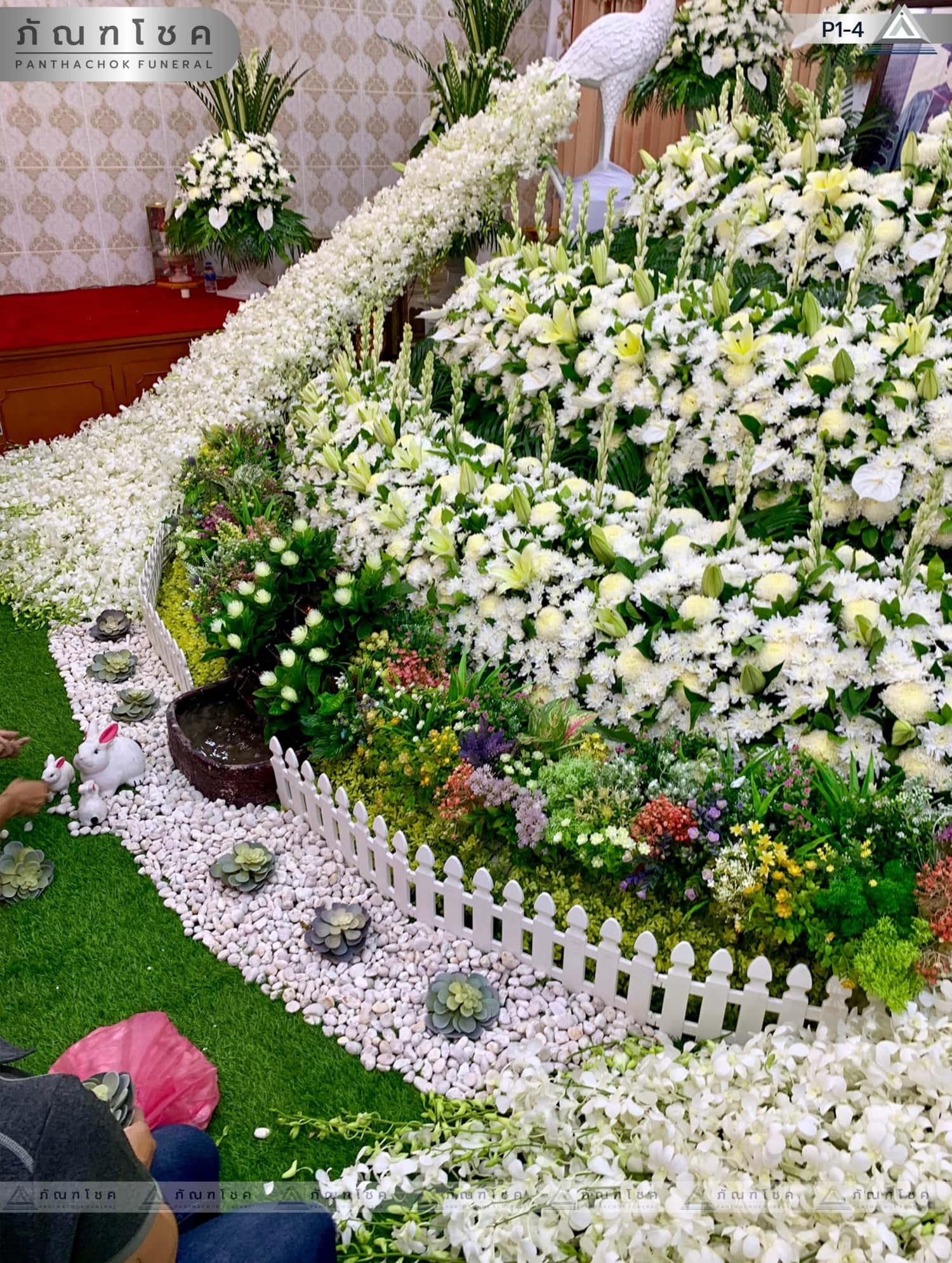ดอกไม้หน้าศพ ชุด P1-4 73