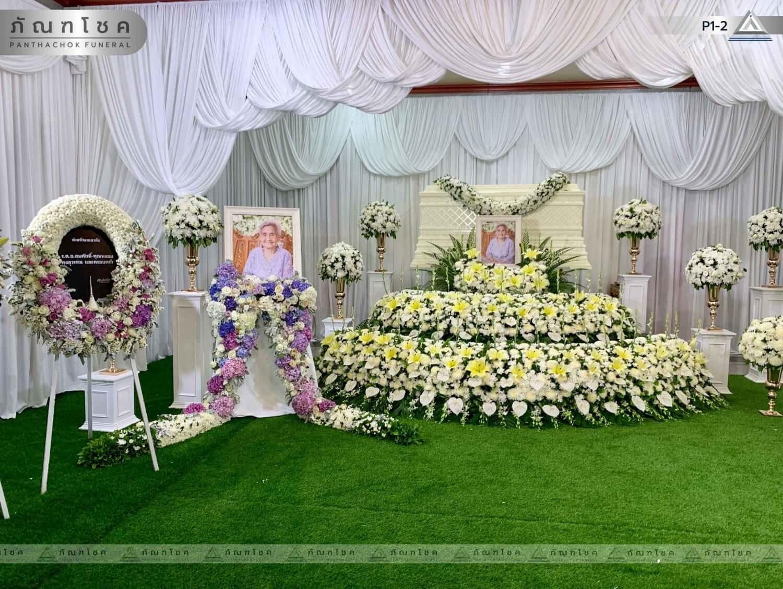 ดอกไม้หน้าศพ ชุด P1-2 34