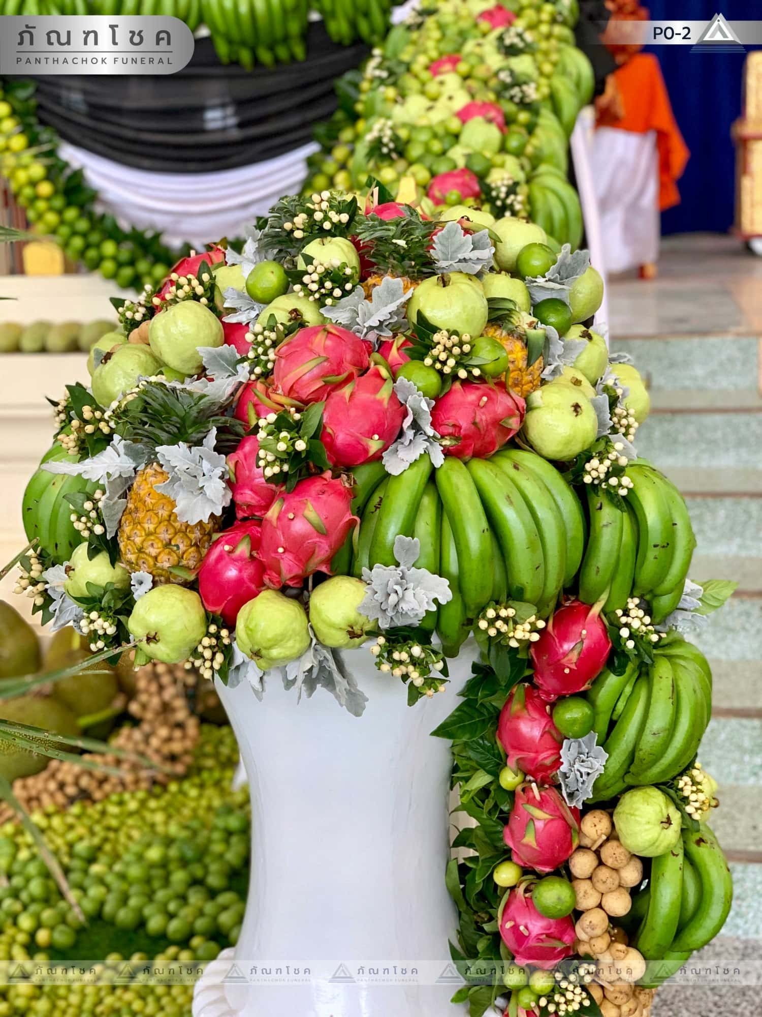 ดอกไม้ประดับเมรุ ชุด P0-2 124