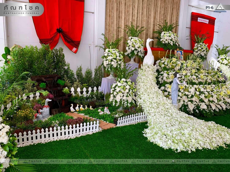 ดอกไม้หน้าศพ ชุด P1-6 36
