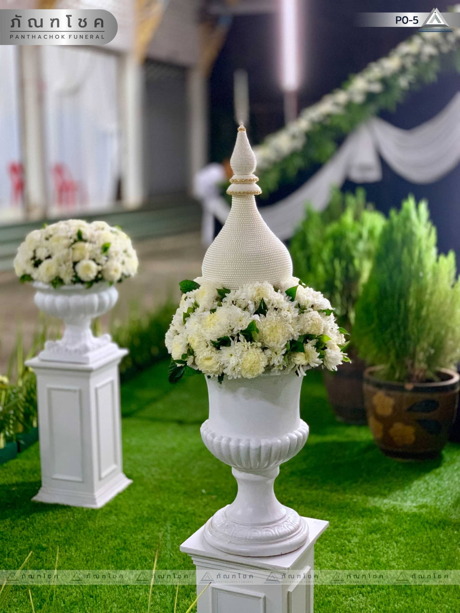 ดอกไม้ประดับเมรุ ชุด P0-5 227