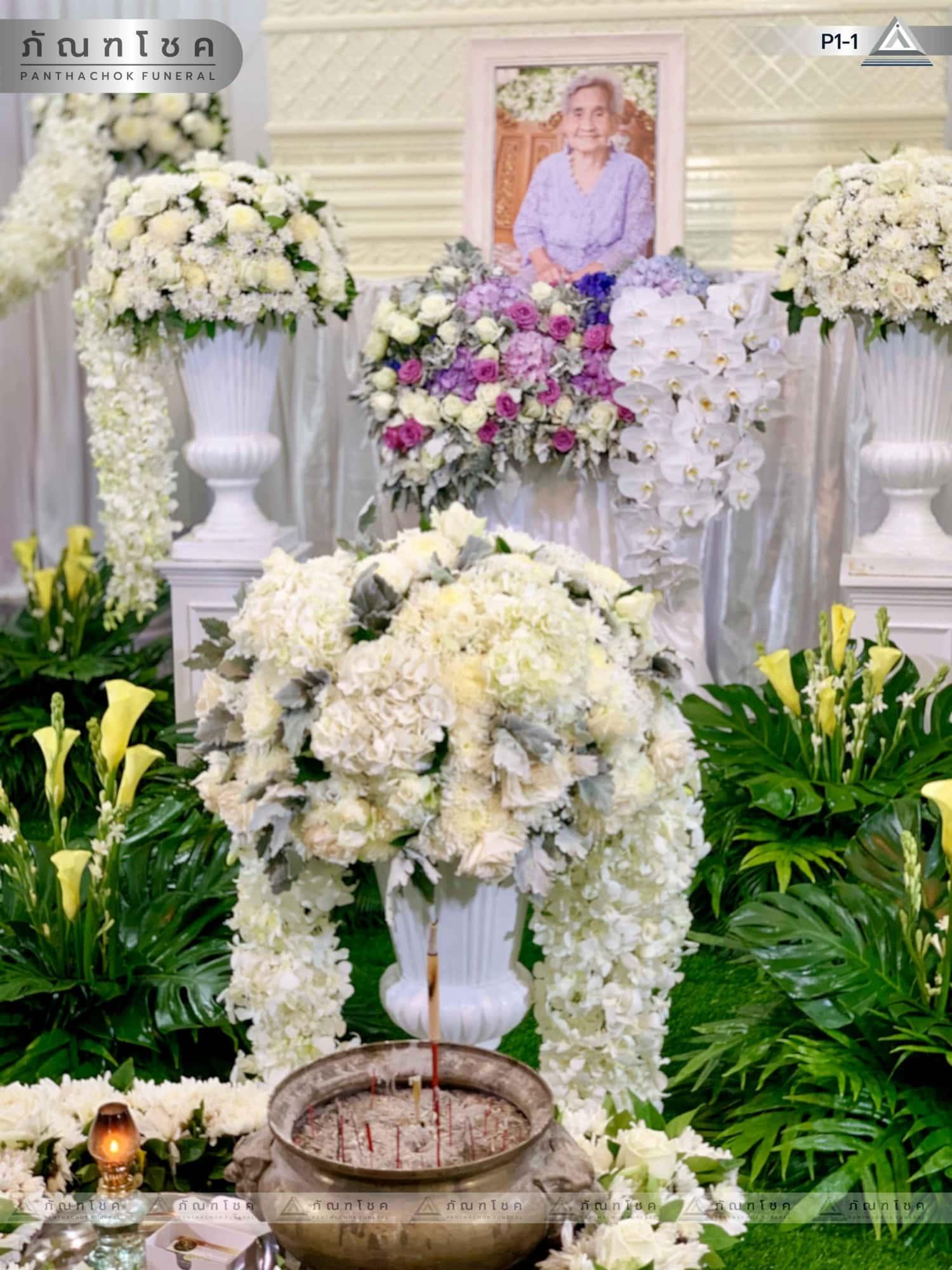 ดอกไม้หน้าศพ ชุด P1-1 67