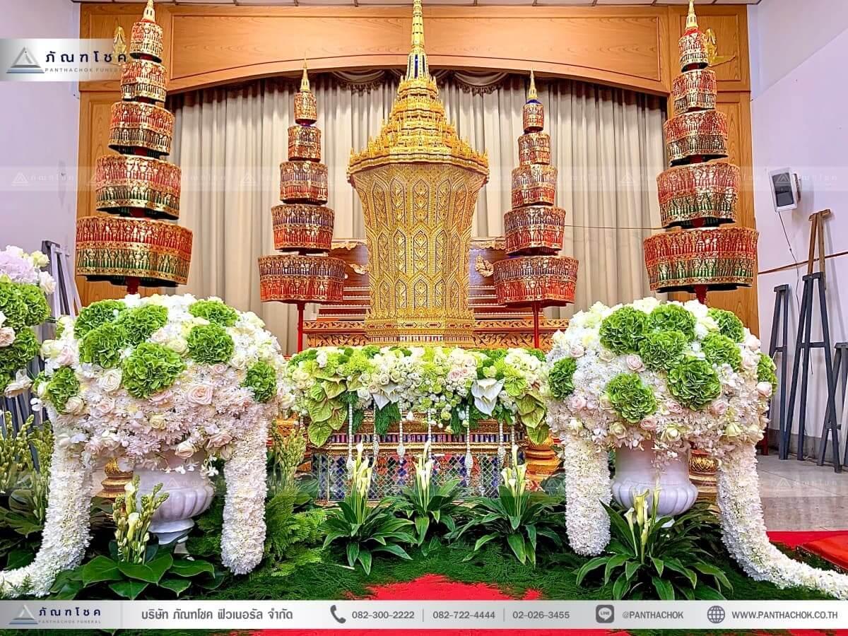 ดอกไม้งานศพเพชรบุรี จัดงานศพเพชรบุรี ดอกไม้งานศพเพชรบุรี 11