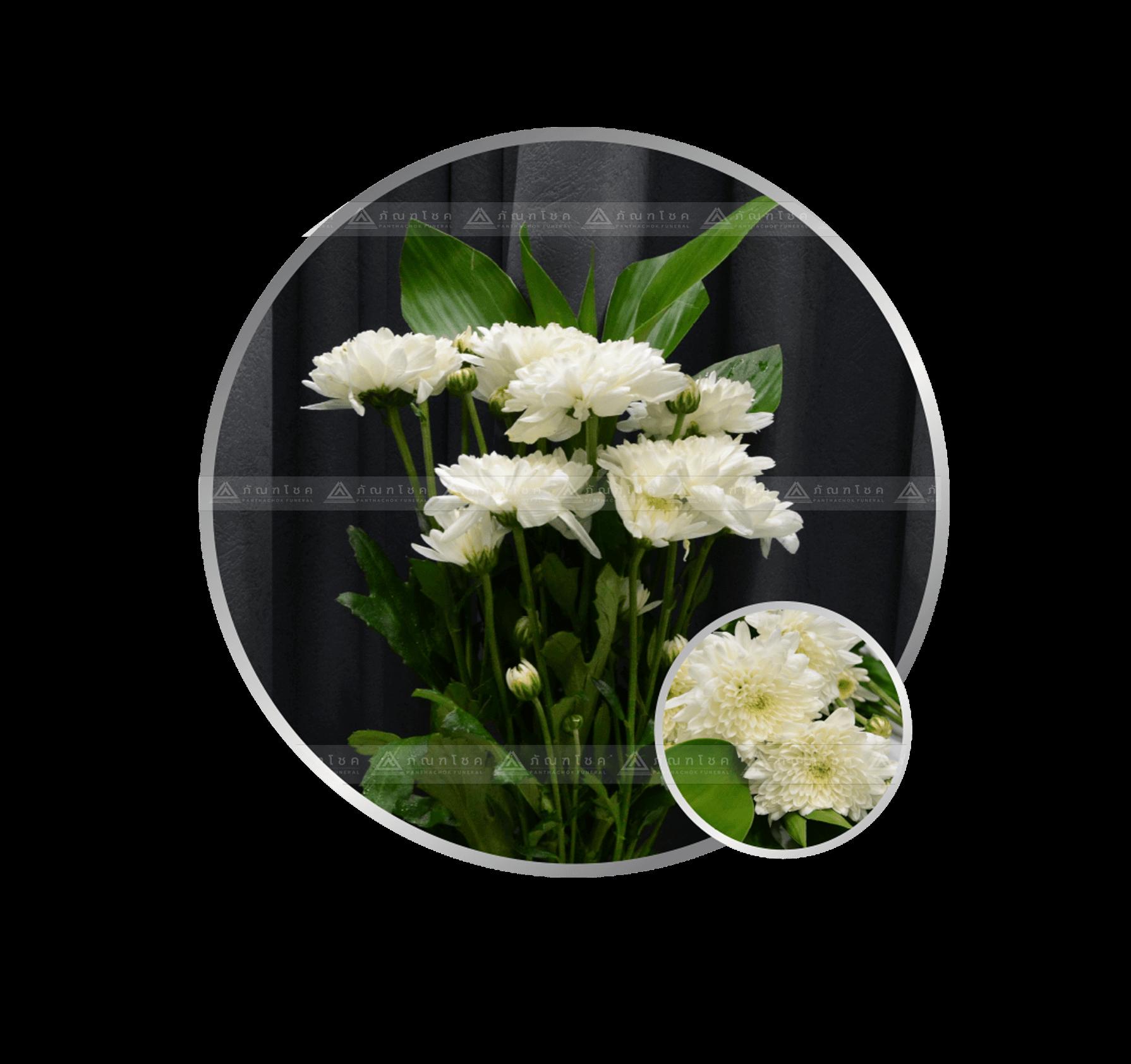 ของใช้งานศพ ดอกไม้ถวายพระ