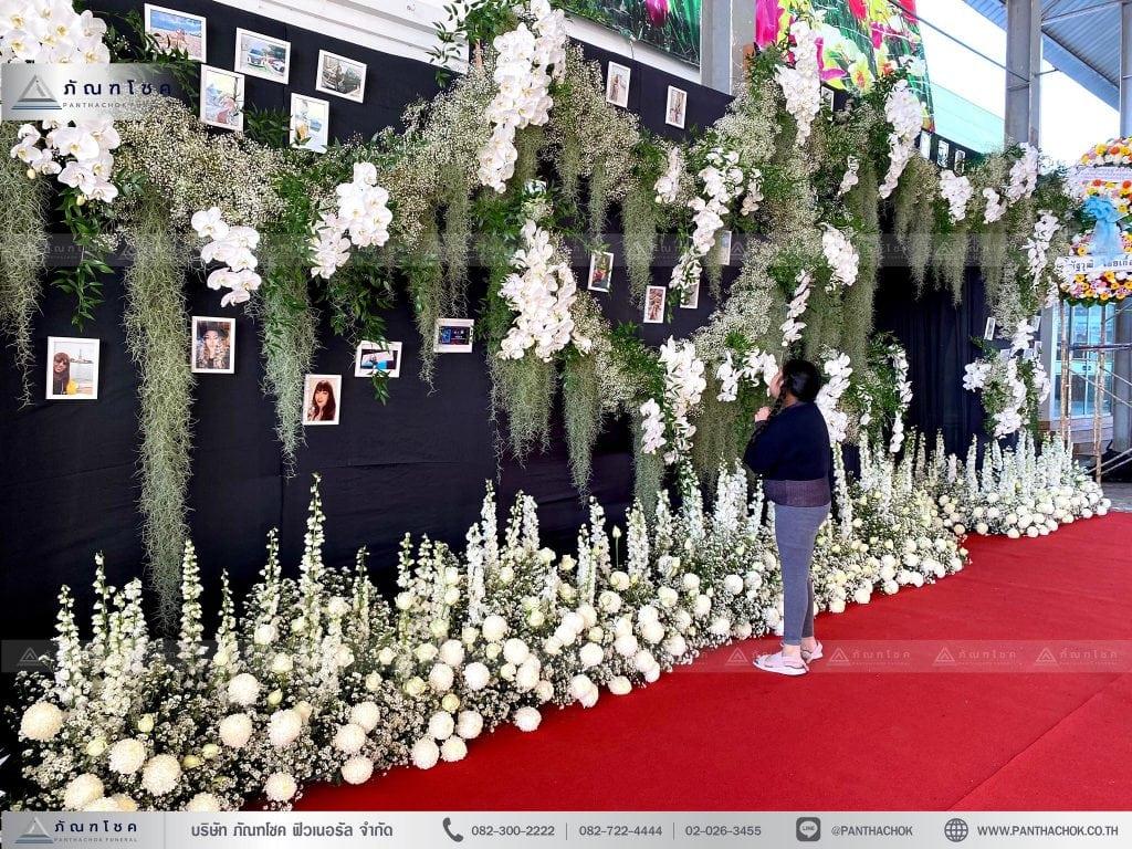 ดอกไม้ประดับงานศพ สวยหรู