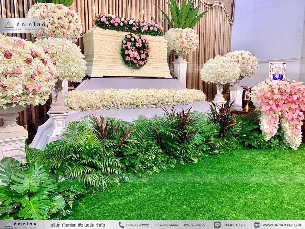 ดอกไม้งานศพจัดสวยๆ จัดดอกไม้ทั่วประเทศ