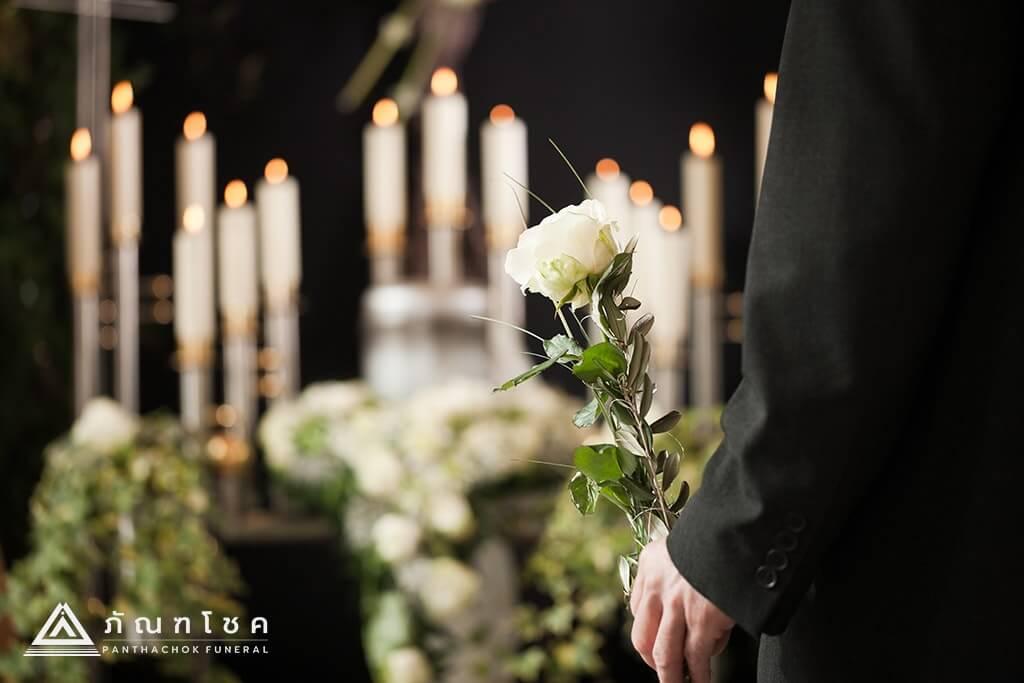 พิธีศพของคนไทย การแต่งกายไปงานศพ กำเนินงานศพไทย