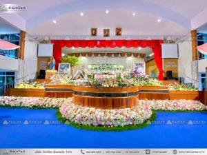 ดอกไม้งานศพแบบคริสต์ จัดงานศพแบบคริสต์ รับจัดงานศพ งานศพคริสต์