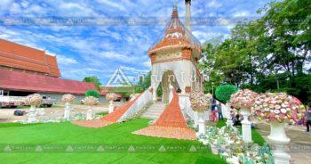 ดอกไม้งานศพกาญจนบุรี เมรุปันสุข