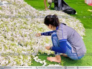 นกยูงงานศพ วัดไทร นครปฐม จัดงานศพแบบเร่งด่วน ดอกไม้หน้าศพแนะนำ ร้านดอกไม้งานศพสวยหรูอลังการ