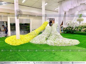 นกยูงงานศพ วัดไทร นครปฐม ดอกไม้งานศพนครปฐม รับจัดงานศพนครปฐม ร้านดอกไม้ รับจัดงานศพภาคกลาง