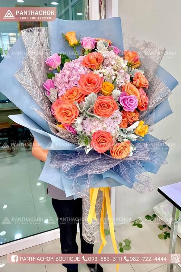 ช่อดอกไม้ราชบุรี